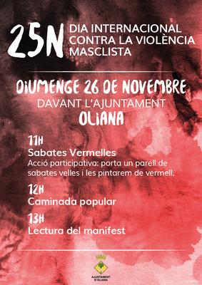 25N Dia contra la violència masclista