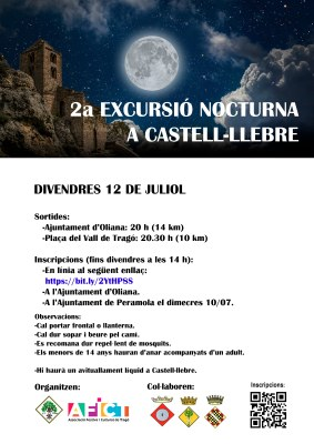 2a caminada nocturna a Castell-llebre