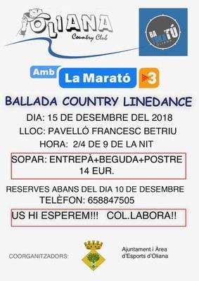 Ballada country per la marató