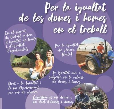 Campanya igualtat Dones - Unió de pagesos