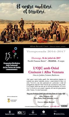Concert de l'Orquestra Simfònica Julià Carbonell de les Terres de Lleida