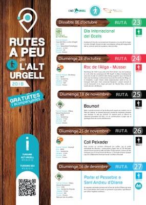 Rutes guiades per l'Alt Urgell